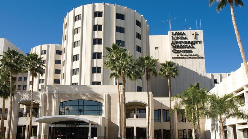Exterior view of Loma Linda Proton Therapy Center